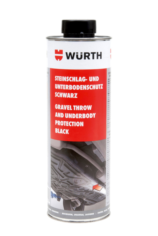 Gravel throw and underbody protection - STNIMPPROT-UBS-BLACK-1000ML