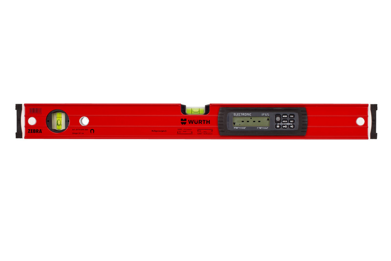 Digitale Magnet-Wasserwaage - WAWAAGE-EL-DIGITAL-2MGN-IP65-L61CM