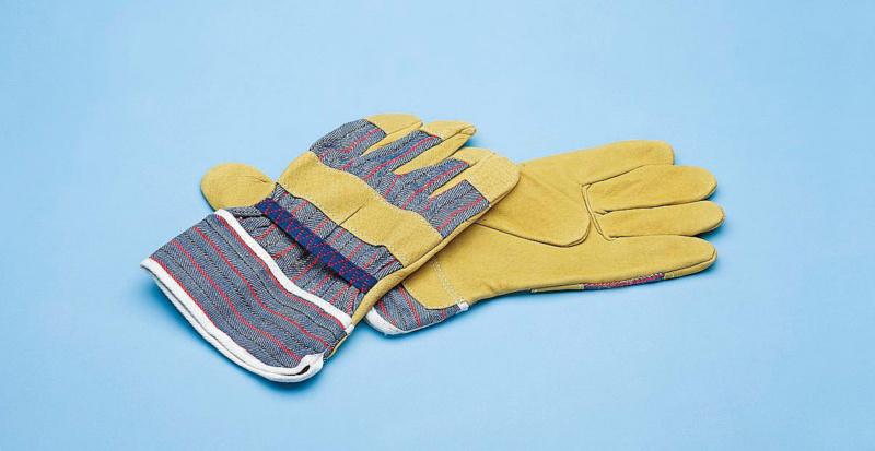 Beschermende handschoen, leder, andere - WERKHANDSCH SPLITLEDER GR.10,5
