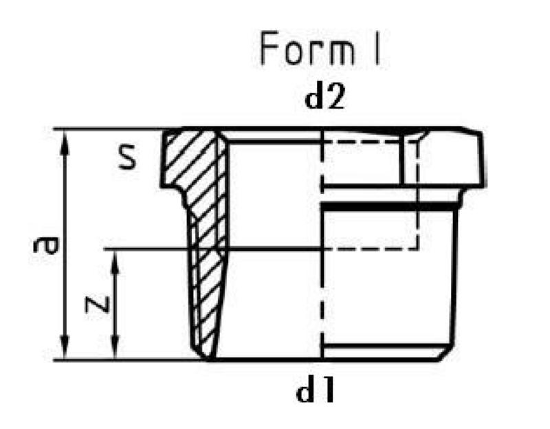 Premium 241 EN10242, ghisa mal zinc cald N4 form I - FITT-RID-NPL-V1 1/2X1 1/4-F1-241-ISO-N4