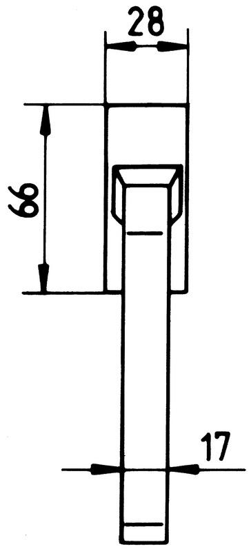 fenstergriff zd 400 w rth. Black Bedroom Furniture Sets. Home Design Ideas