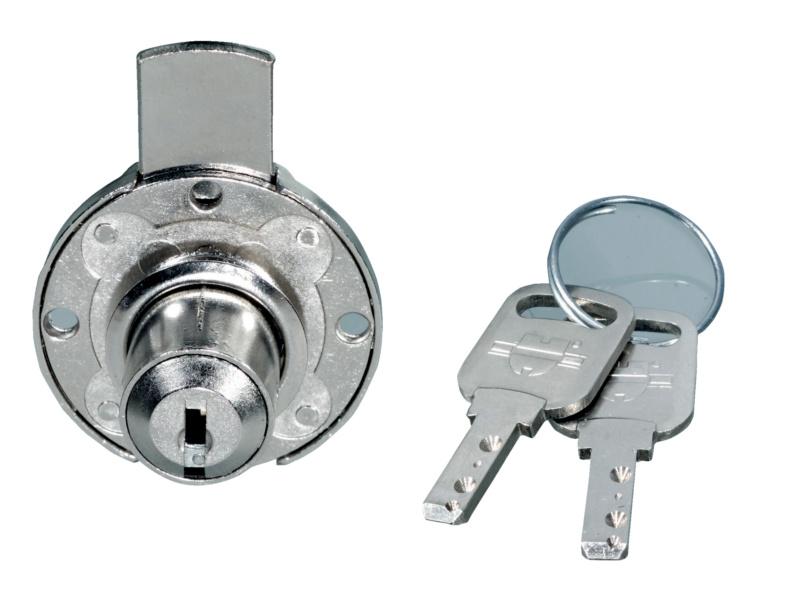 Serratura per mobile a cilindro con chiusura 0683525651 - Mobile con serratura ...