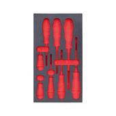 Einlagen f Handwerkzeug Sortiment Schaum