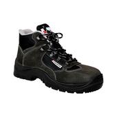Pracovní obuv O1, šedá, vysoká