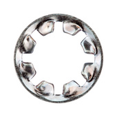 Serrated washers