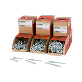 Fasteners, assortments, mixed
