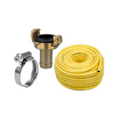 Hoses, couplings, hose clamps
