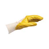 Protective glove, nitrile
