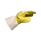 Protective glove, synthetic