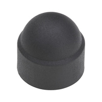 Cover cap for hexagonal bolts and nuts
