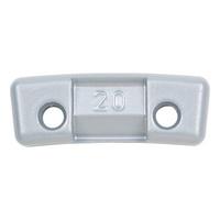 Zinc safety spoke weight, Mercedes Benz