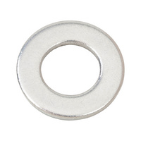 Flat washer for hexagon bolts and nuts