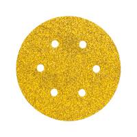 Wood dry sandpaper disc