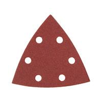 Carta abrasiva a secco triangolare per legno