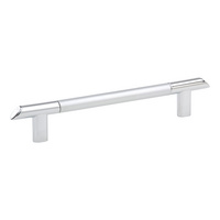 Мебельная ручка декор. сталь/литой цинк