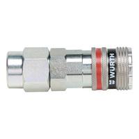 Druckluft Sicherheitskupplung wSafe<SUP>®</SUP> 4000 mit Komfortanschluss