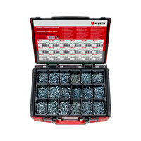 Countersunk and pan head screw assortment