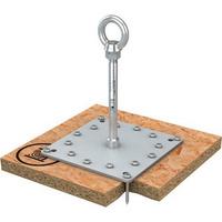 ABS Anschlagpunkt für Holzschalung mit Stützrohr Lock-X-H-16-SR
