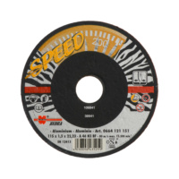 Speed cutting disc for non-ferrous metals/aluminium