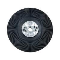 Platorello per dischi in fibra vulcanizzata con scanalature di raffreddamento