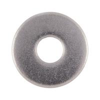 DIN 440, paslanmaz çelik, A2, düz