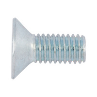 Countersunk screw with TX head