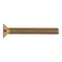 Süllyesztett fejű csavar belső hatlapú kulcsnyílással