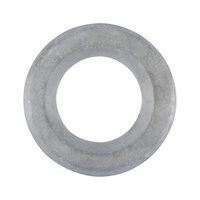 Flat washer with chamfer for high-strength fittings