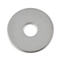 DIN 522, paslanmaz çelik, A2, düz