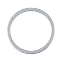 Sealing ring, aluminium, shape A