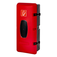 Schutzbox für Feuerlöscher
