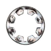 Serrated washer, internally serrated, type J