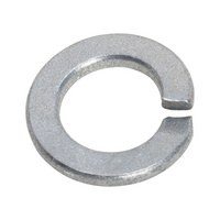 DIN 127 acciaio zincato meccanicamente forma B