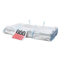 Asbestos sheeting sack