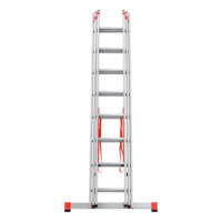 Multipurpose aluminium ladder