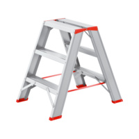 Aluminium step ladder 2x3