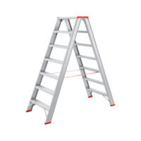 Aluminium step ladder 2x7