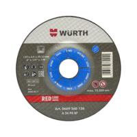 Grinding wheel for steel