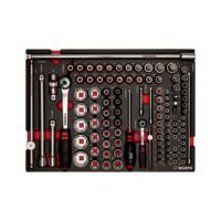 System-Sortiment 8.4.1 Steckschlüssel 1/4 + 1/2 Zoll