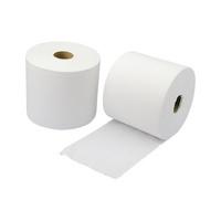 Bobine d'essuyage ouate recyclée blanche Pro-Basic Plus