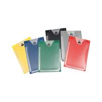 Auftragsschutztasche mit Klettverschluss und Falz
