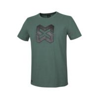 Arbeits T-Shirt Logo IV grün