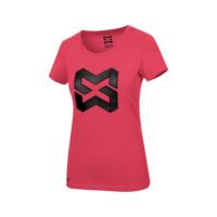 Arbeits T-Shirt Logo IV Damen, rot