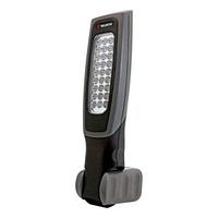 Battery-powered LED hand-held lamp, Ergolight