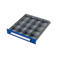 Schubladen-Einteilungs-Set BASIC RW, 16-fach