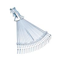 Adjustable leaf broom