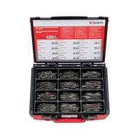 Spanplattenschrauben ASSY<SUP>®</SUP> 3.0 mit Senkkopf und Schaft, Edelstahl A2 rostfrei Sortiment