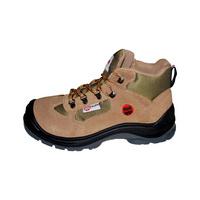 S1-P Boğazlı iş güvenliği ayakkabısı - süet bej