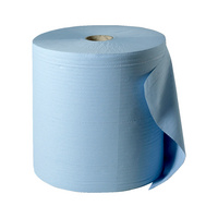 Putzpapierrolle Blau