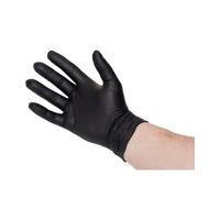 Einweghandschuhe Nitril 35PLUS Schwarz